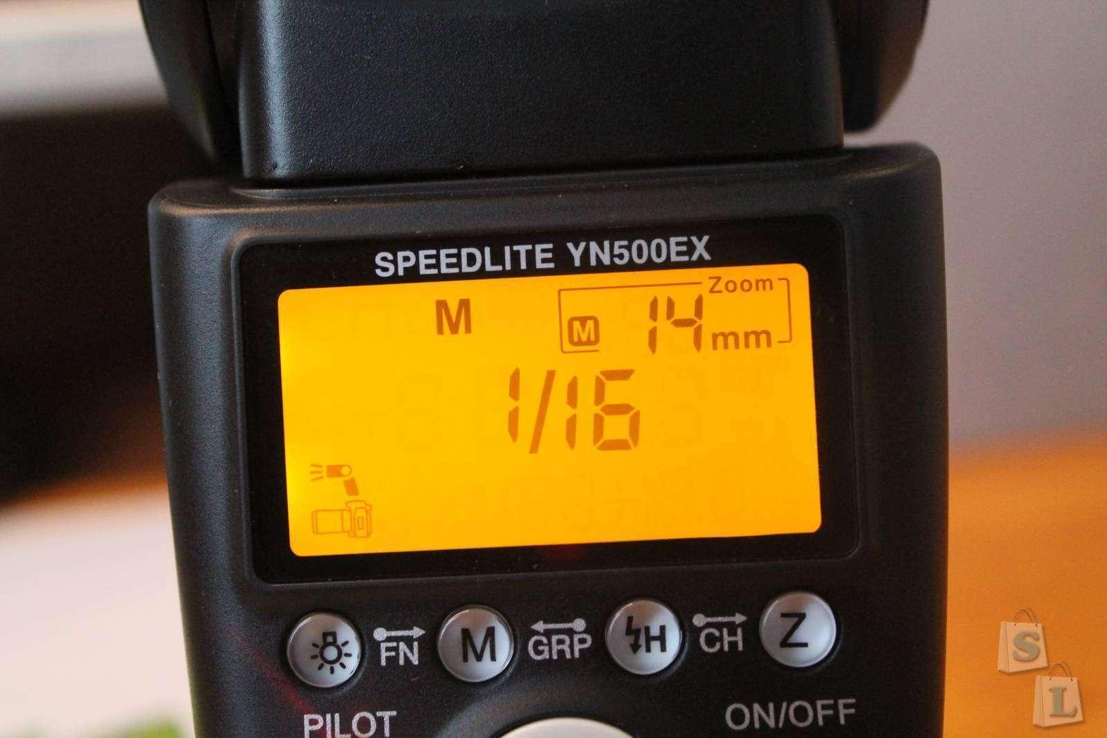 Tmart: Фотовспышка Yongnuo Speedlite YN500EX для Canon