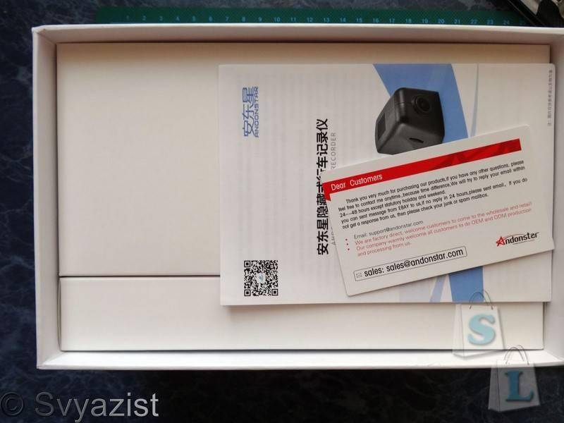 Aliexpress: Автомобильный видеорегистратор скрытой установки Andonstar ADS100 на процессоре Novatek NTK 96655 с CMOS матрицей Sony Exmor IMX322  и Wi-Fi на борту.
