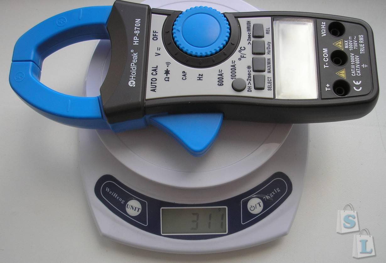 TomTop: Клещи-мультиметр HoldPeak HP-870N (True RMS)