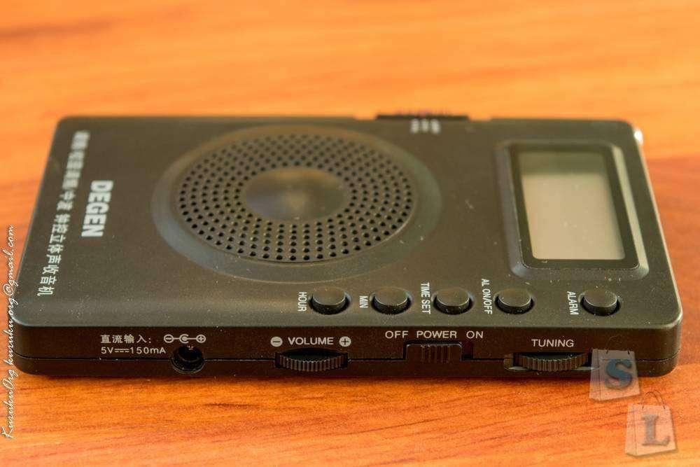 Ebay: Портативный радиоприёмник DEGEN DE 215 (FM, MW, FML, DSP Digital Radio)