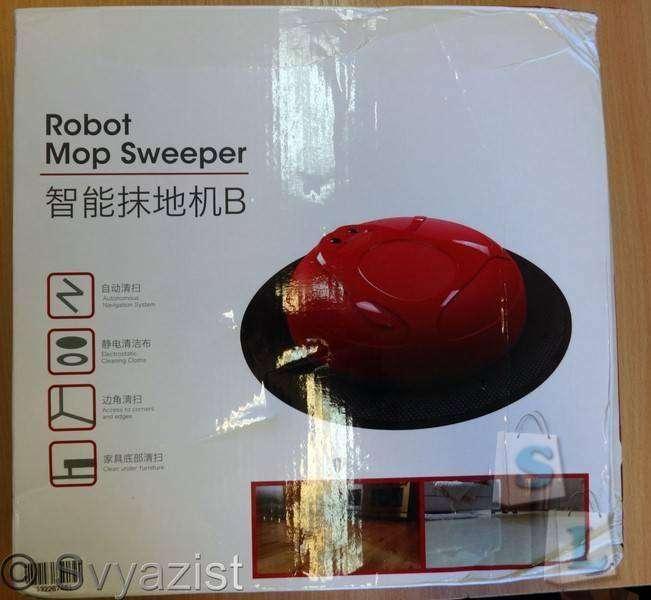 GearBest: Роботизированная швабра для сухой уборки TOKUYI TO-RMS.
