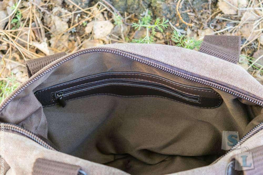 Banggood: Качественная сумка из канваса, которую приятно носить и не стыдно показать