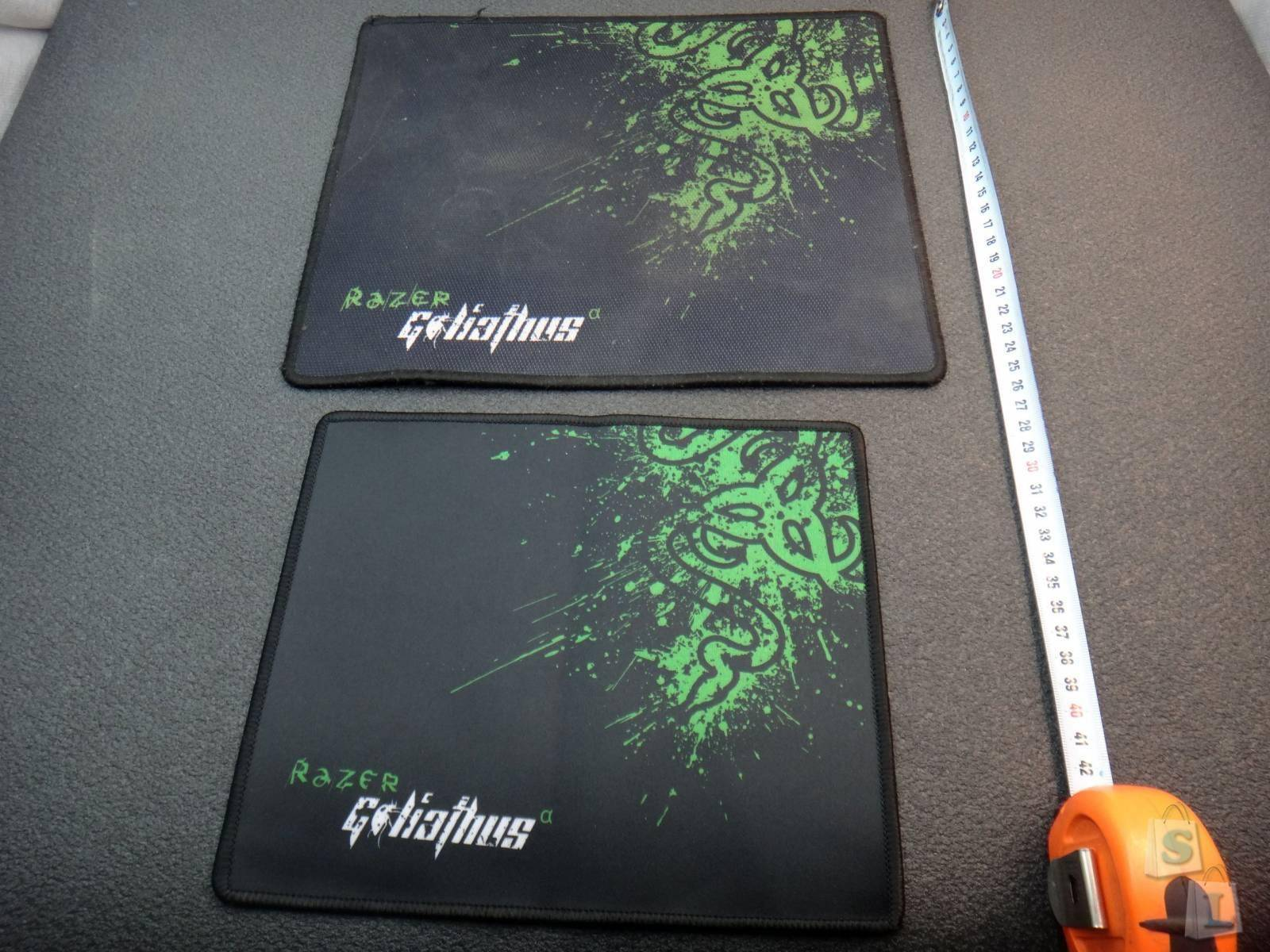 Aliexpress: Коврик для мышки Azer Goliath сравнение с оригиналом Razer Goliathus