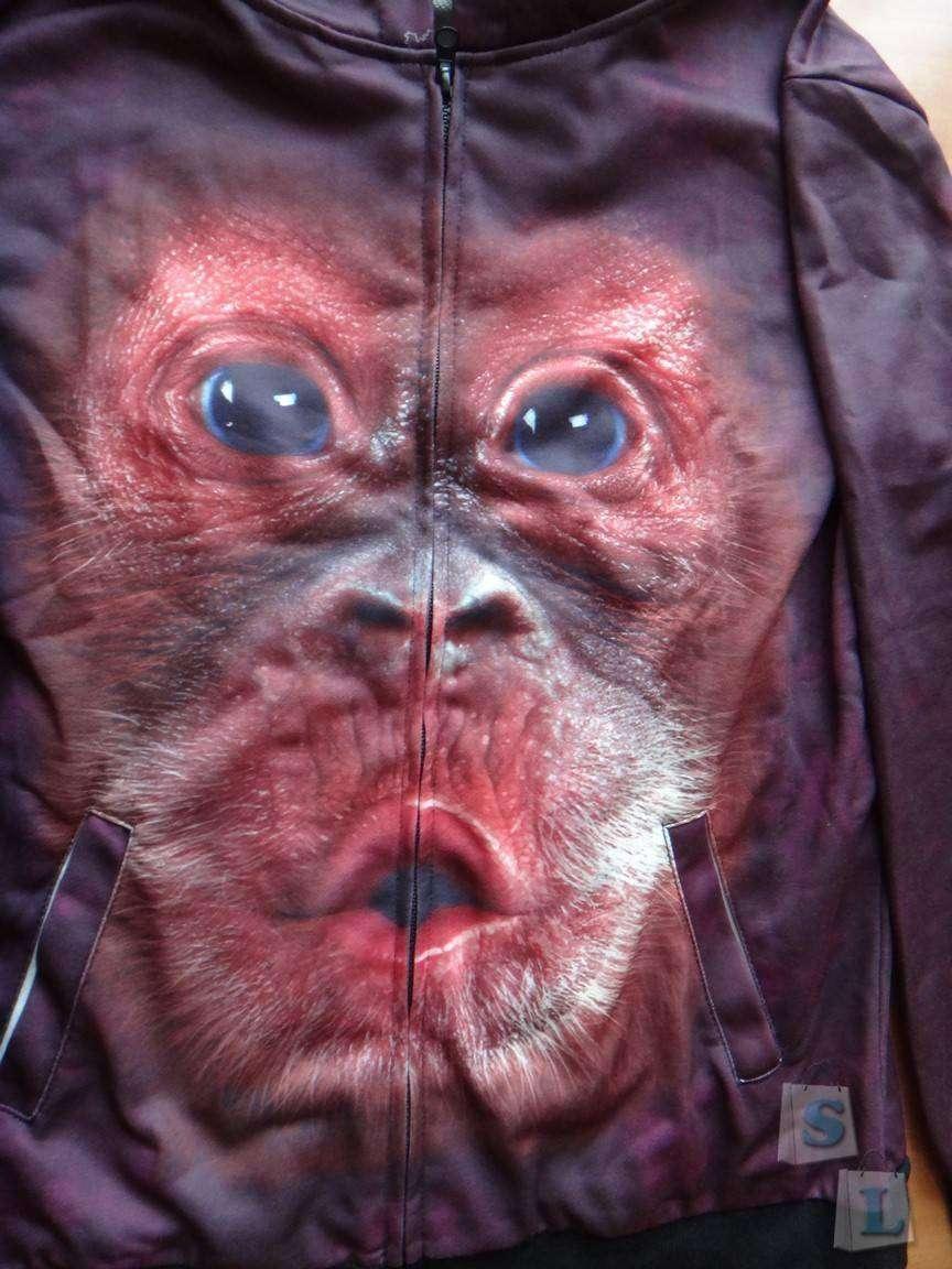 GearBest: Мужская худи ( толстовка) с 3D рисунком (принтом)  от Gearbest