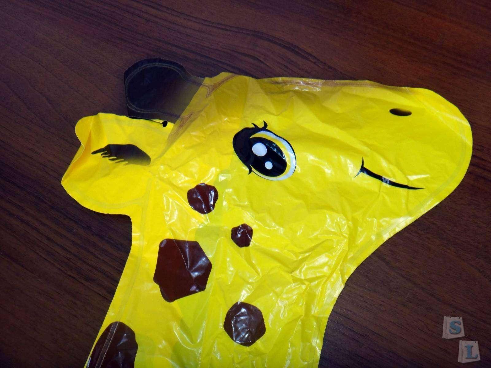 GearBest: Большие надувные шарики от Gearbest - Миньон, шар жираф и цифры