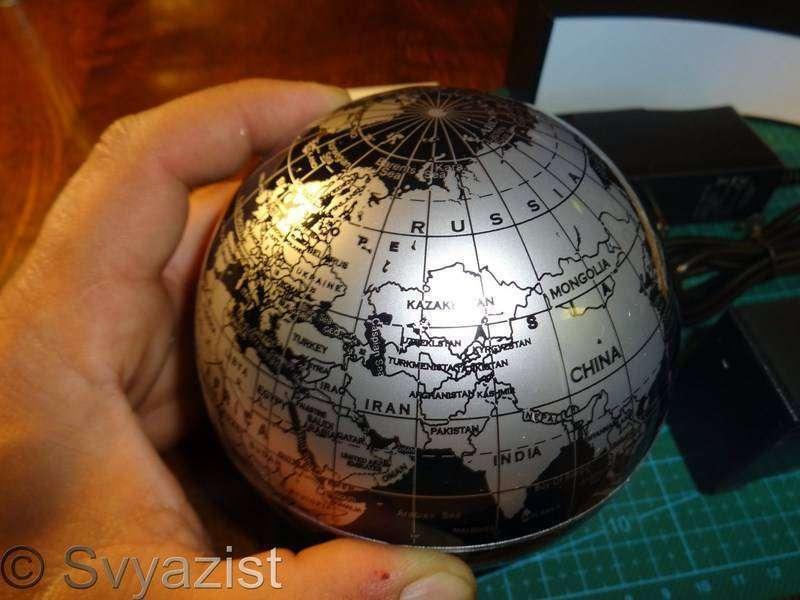 Banggood: Электромагнитный левитирующий глобус. А всё-таки она вертится!