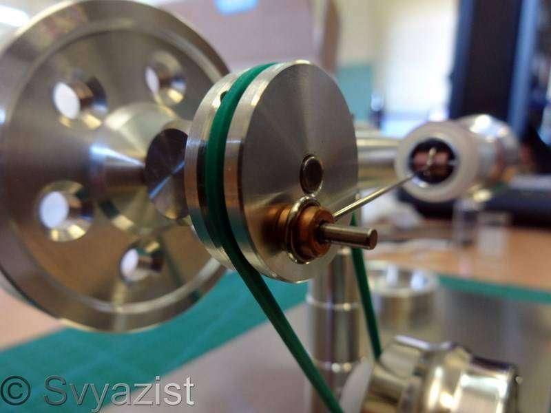 Banggood: Высокотемпературный двигатель Стирлинга с генератором электроэнергии.