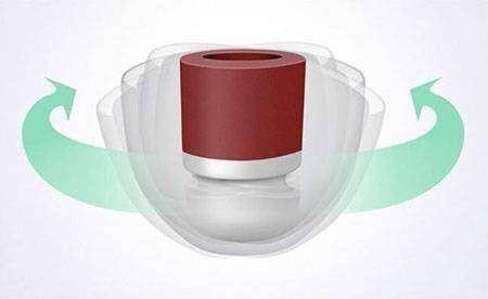 PenonAudio: Силиконовые амбушюры SpinFit CP100 (360º ROTATION) с 'плавающей' насадкой
