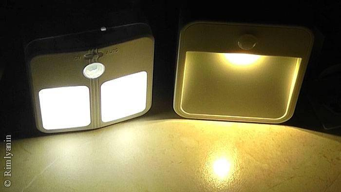 GearBest: Автономный ночник с датчиками освещенности и движения