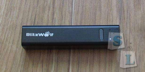 Banggood: BlitzWolf® BW-P2 3350mAh Mini Portable Power Bank for iphone ipad Samsung S7 note 5 Xiaomi 5