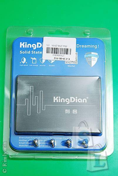 GearBest: Original KingDian S280-120GB Solid State Drive 2.5 inch SSD Hard Disk SATA3 Interface