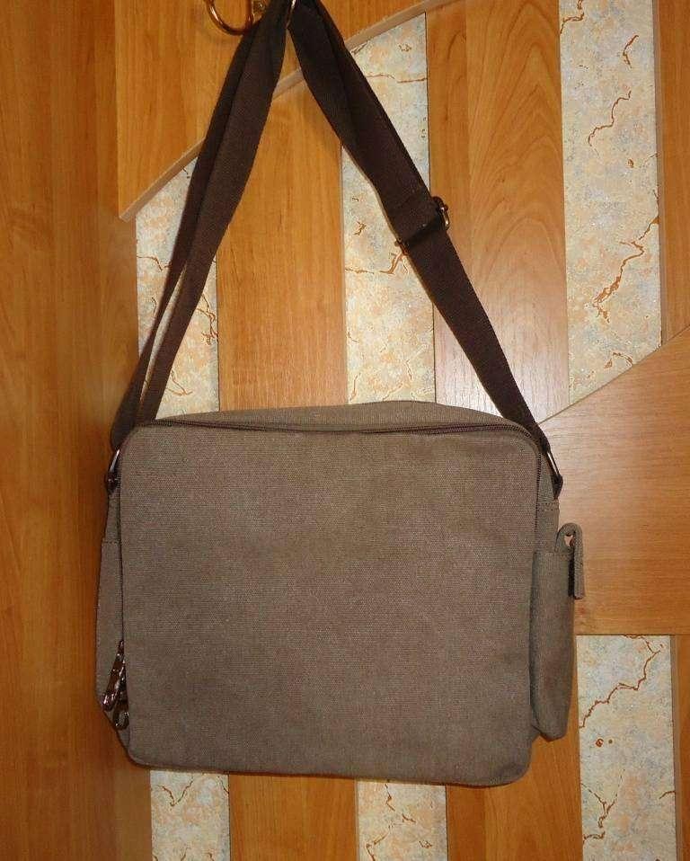 ChinaBuye: Мужская сумка из канваса