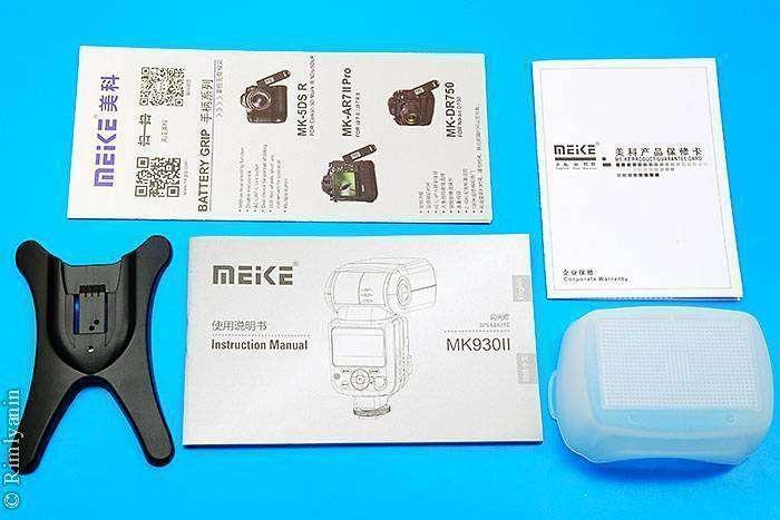 Aliexpress: Обновленная версия фотовспышки Meike MK-930II