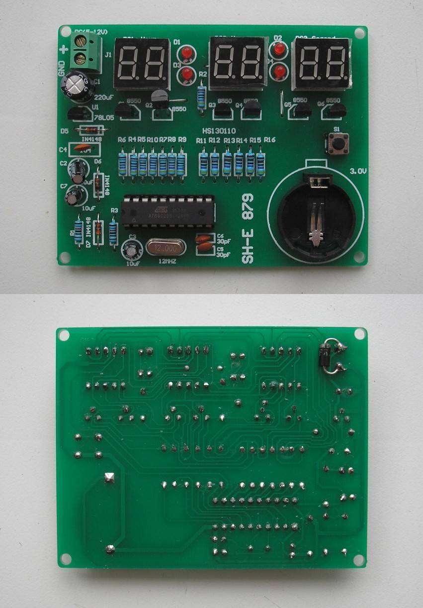 Banggood: Часы – конструктор