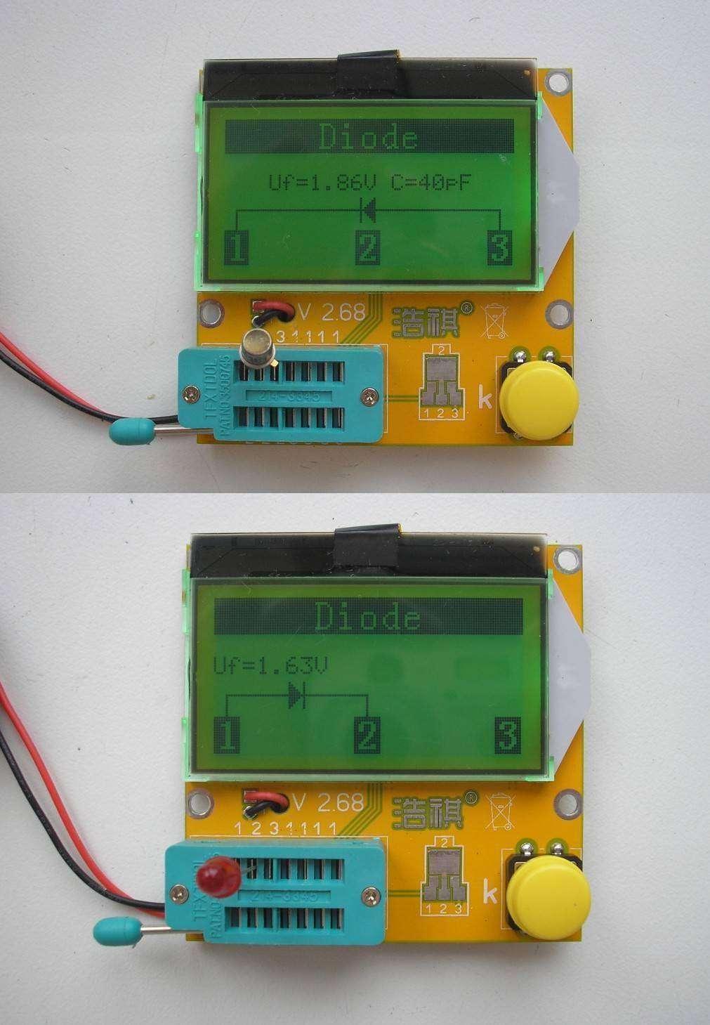 Banggood: LCR-T3 LCD ESR SCR Meter Transistor Tester. Прибор начинающего радиолюбителя