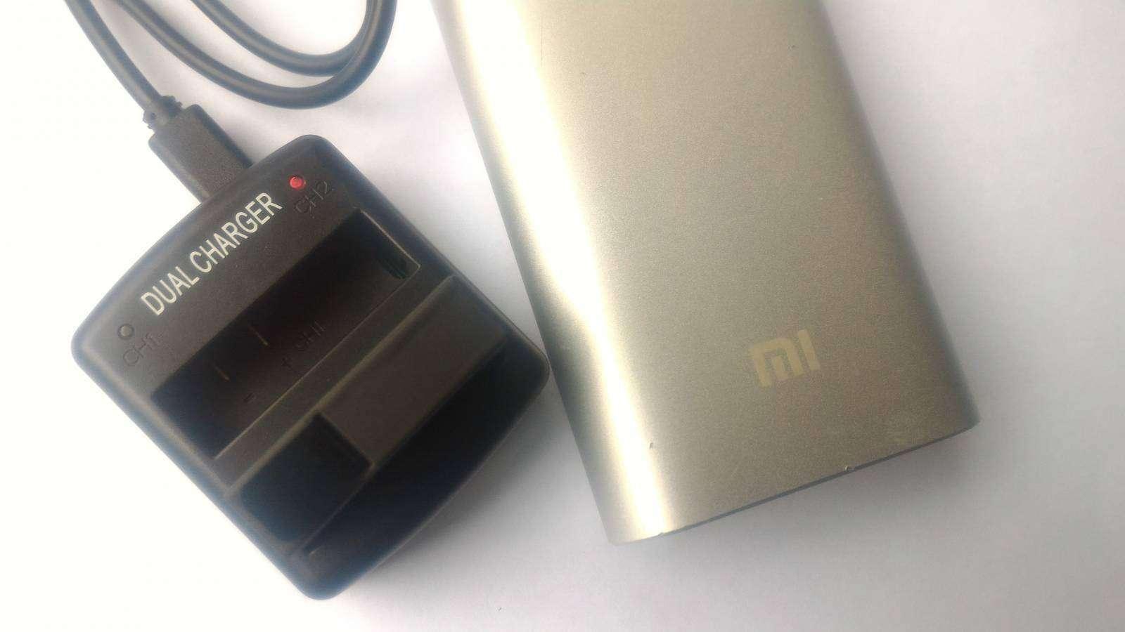 GearBest: Док станция и аккумулятор для новой экшн камеры Xiaomi Yi 2  4K