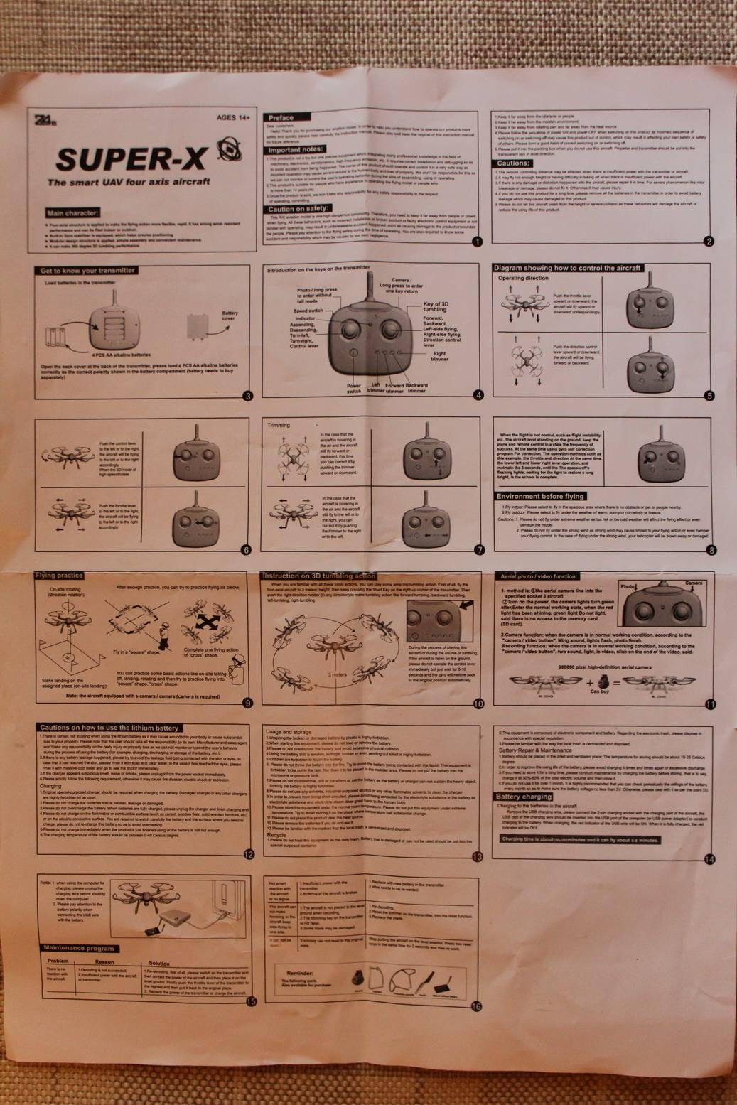 GearBest: Полуметровый квадрик за очень мало денег - Mould King Super X 33040A