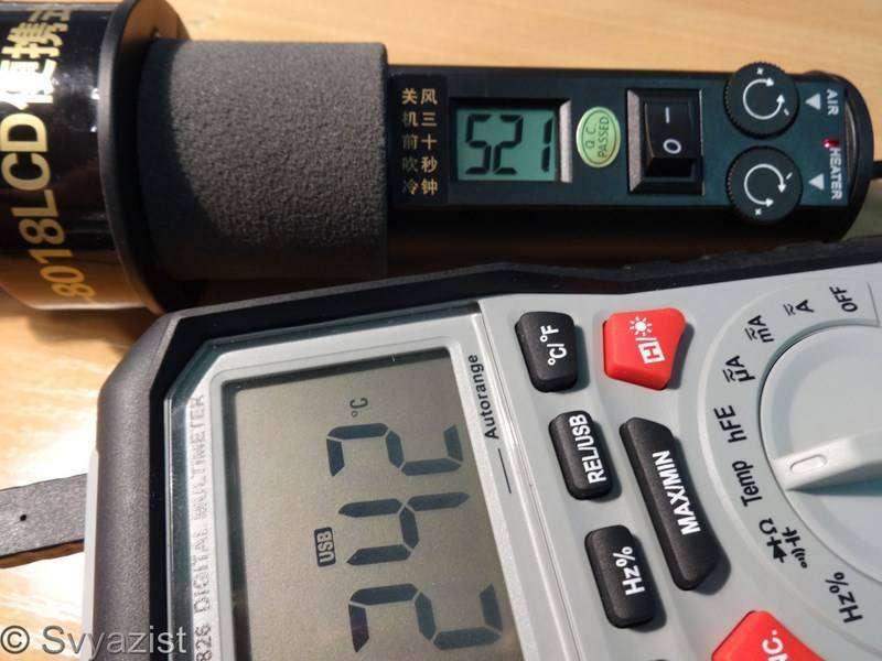 Banggood: Термофен 8018LCD. Новая ревизия.