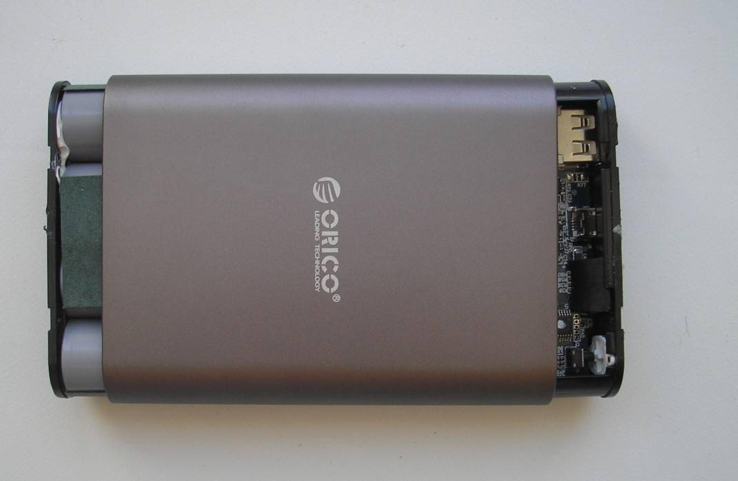 TVC-Mall: Портативный аккумулятор ORICO Q1 10400 mAh QC2.0 便携移动电源
