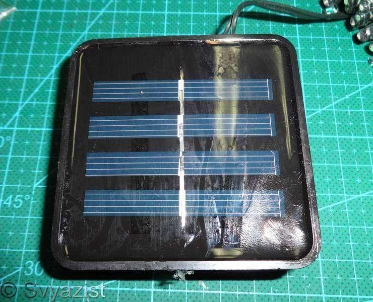 Tmart: Гирлянда из 100 светодиодов на солнечной батарее.