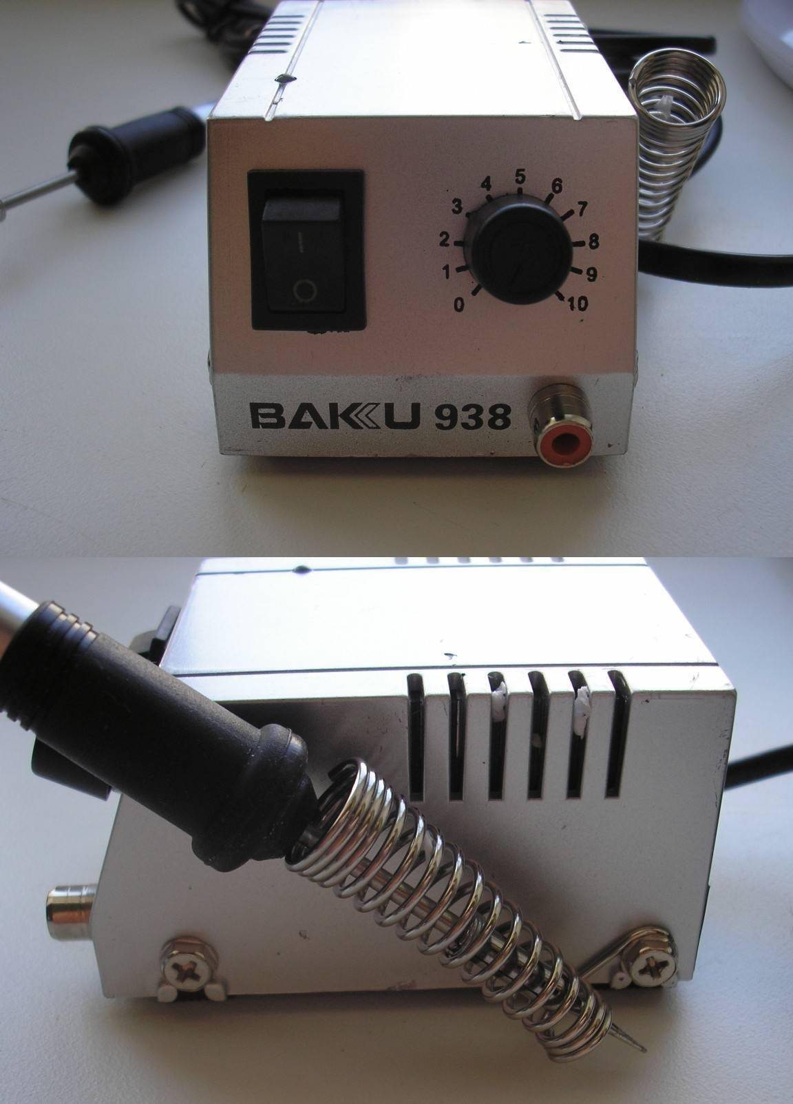 TVC-Mall: Mini Soldering Station BAKU BK-938 для SMD компонентов