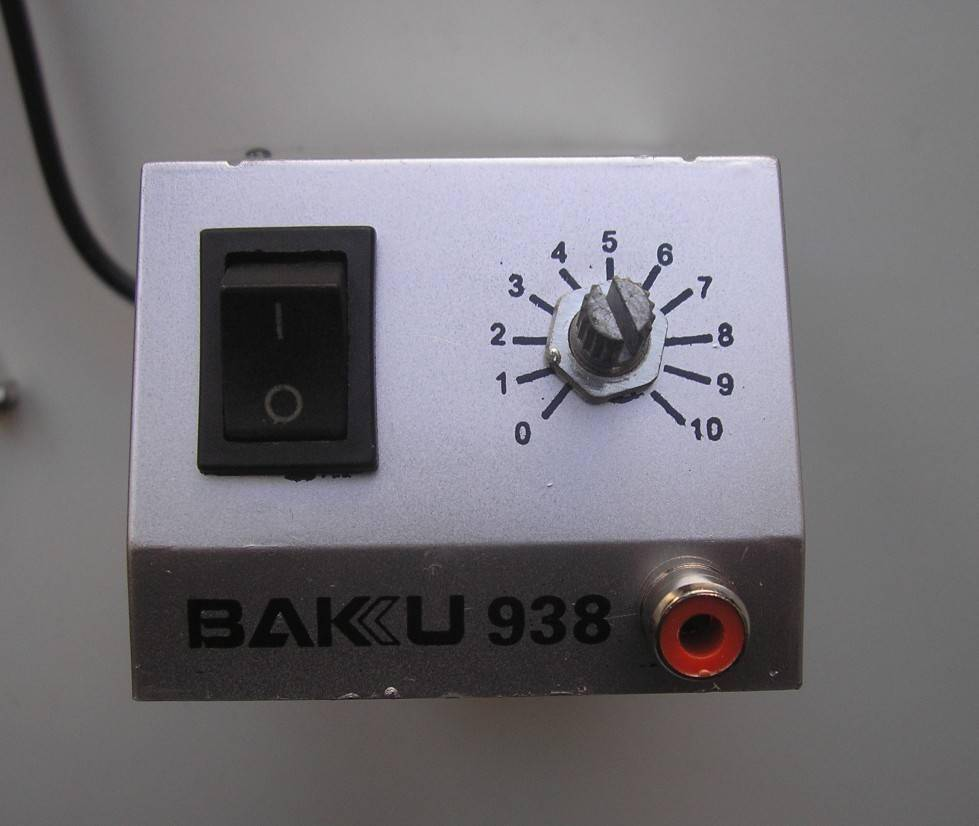 TVC-Mall: Mini Soldering Station BAKU BK-938 для SMD компонентов