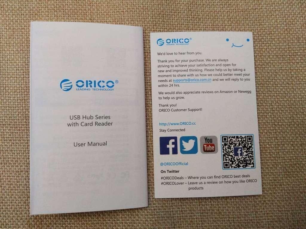 TVC-Mall: Трехпортовый хаб с кардридером Orico H3TS-U3