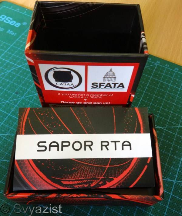 GearBest: Обслуживаемый бак Wotofo Sapor RTA