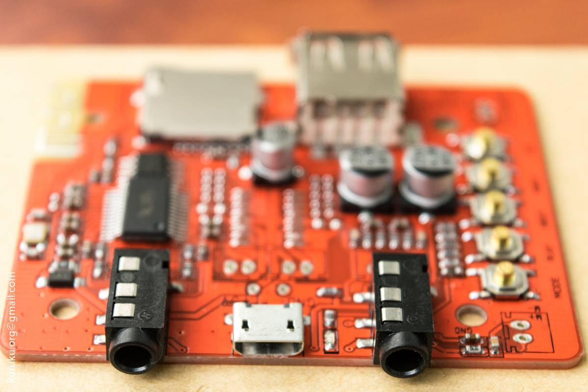 Aliexpress: Небольшая, но очень полезная платка - Аудио модуль BT2 с поддержкой Bluetooth, USB Flash и MicroSD