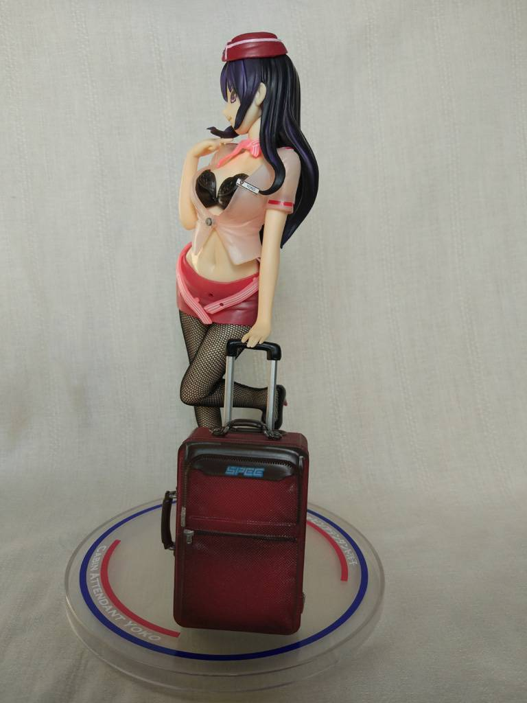 Lightinthebox: Фигурка стюардессы Yoko из аниме Twilight