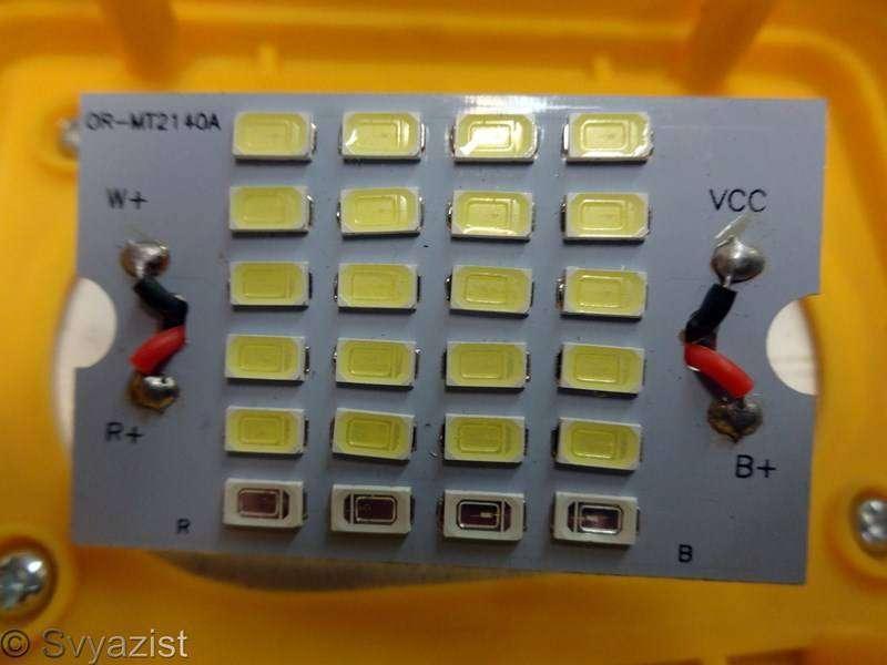 Tmart: Переносной прожектор Boruit RJ-2141 на аккумуляторах 18650 с функцией power bank.