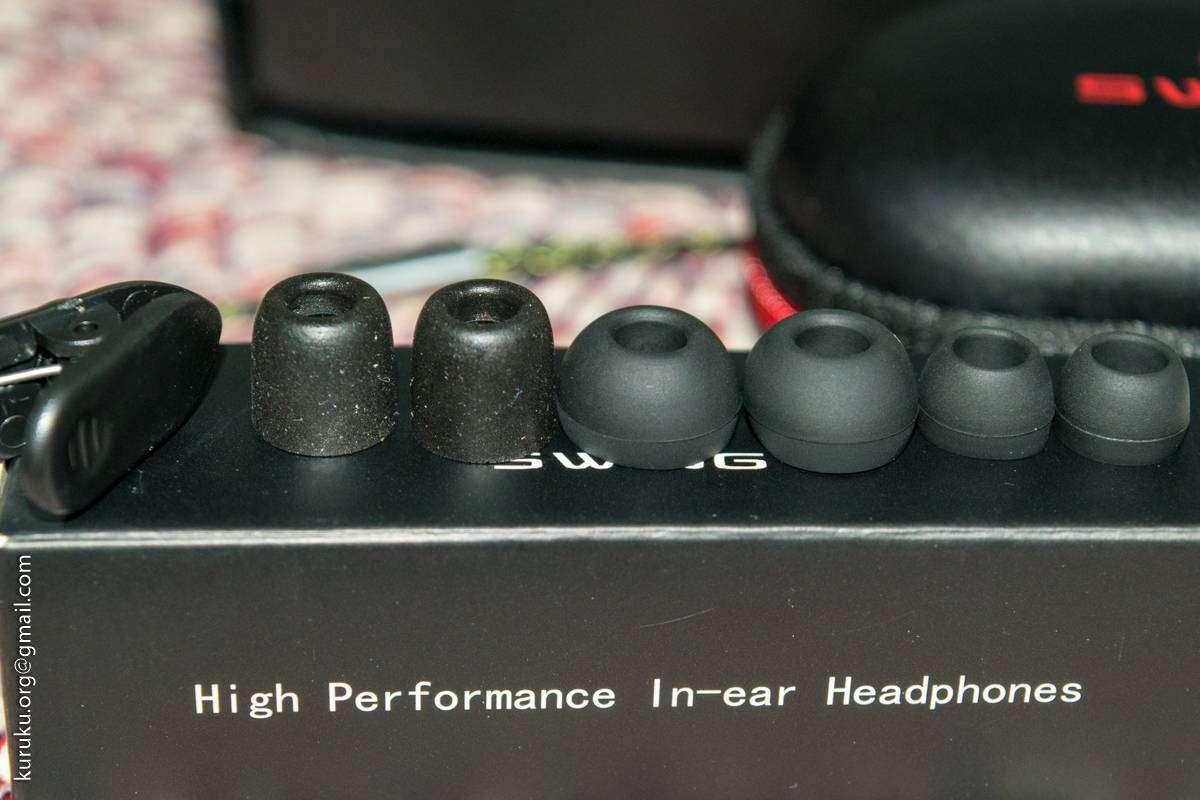 PenonAudio: Гибридные наушники SWING EC1 (Dynamic + 2 Balanced Armature)