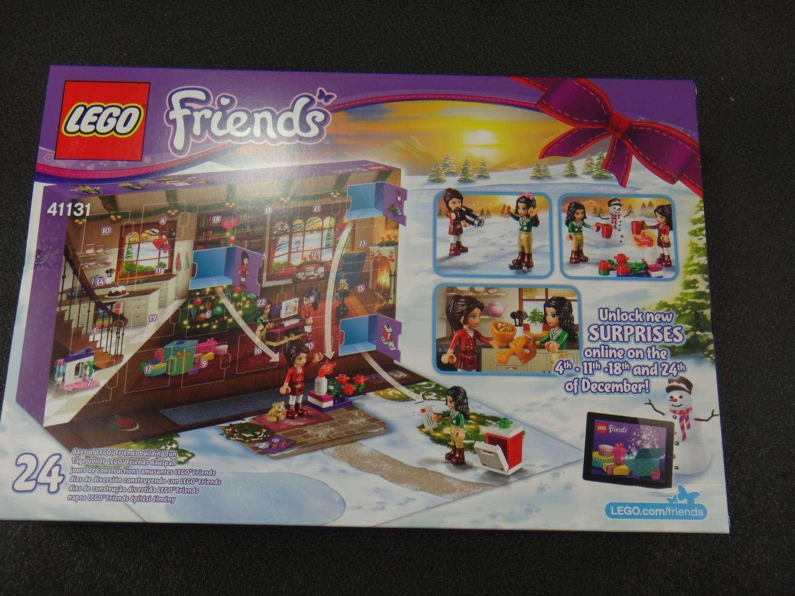 Другие - Европа: Обзор LEGO Advent Calendar рождественский календарь серия City и Friends