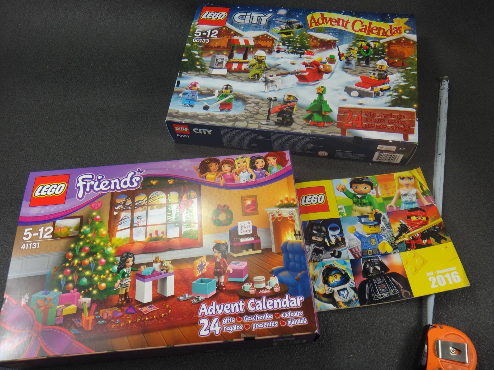 Другие - Европа: Обзор LEGO Advent Calendar рождественский календарь серия City и Friends