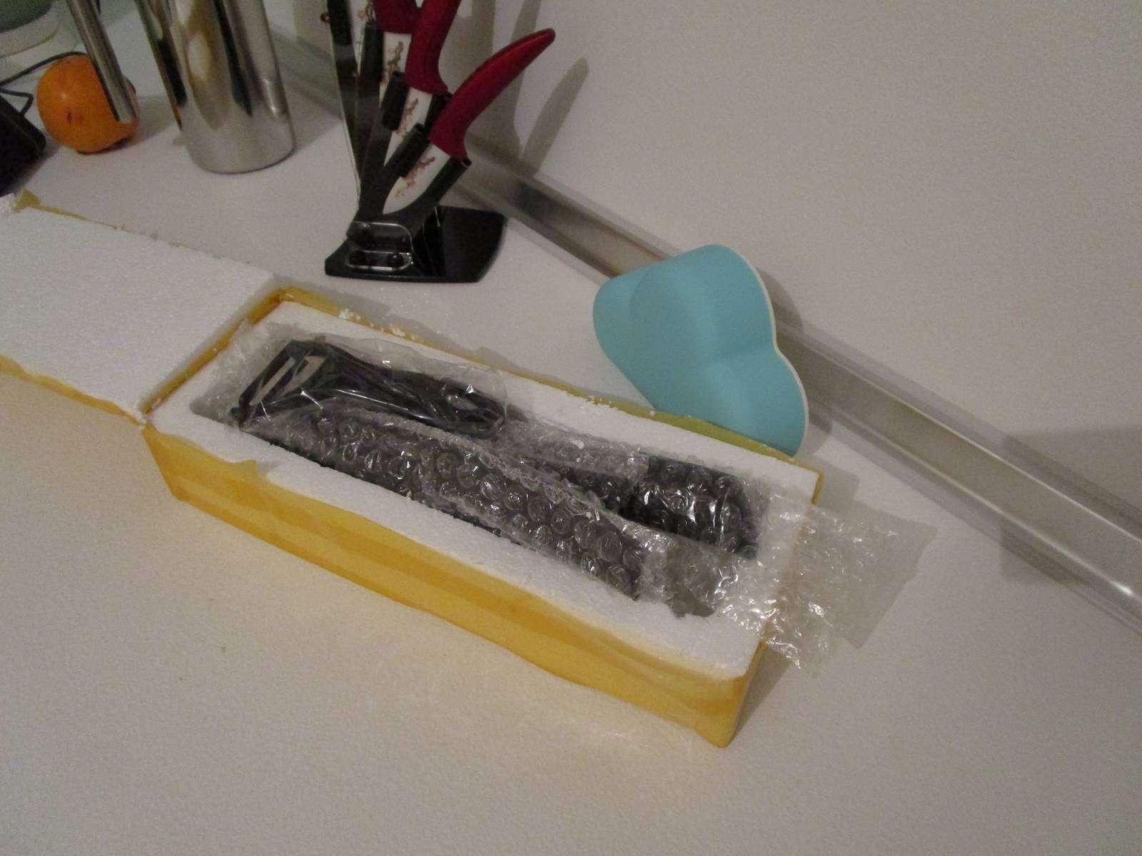 GearBest: Керамические ножи брутального черного цвета