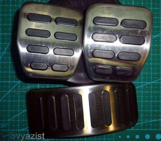 Aliexpress: Накладки на педали для автомобилей VAG group. Микро-обзор.