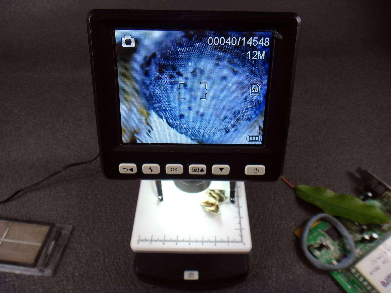 GearBest: Электронный микроскоп UM038 с 5 мп камерой и LED дисплеем