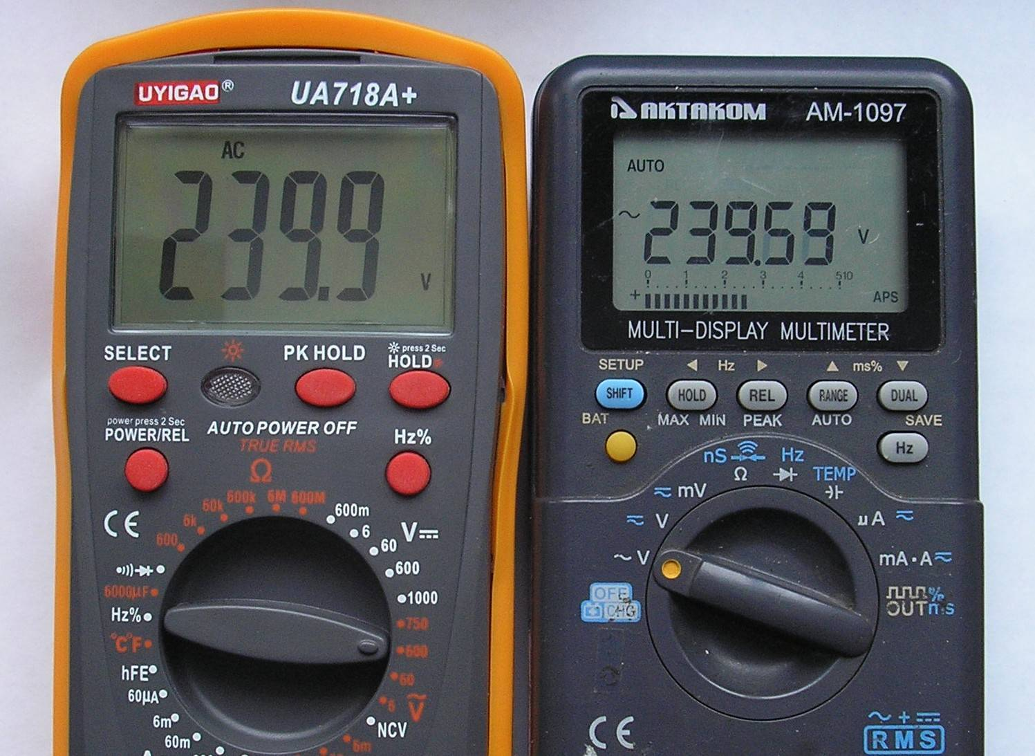 TomTop: ☀Мультиметр UYIGAO UA718A+ (True RMS)