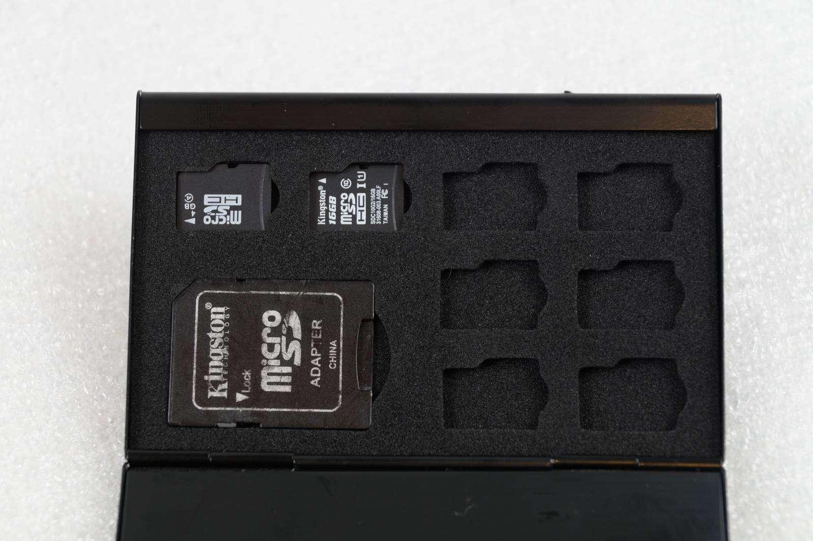 Aliexpress: Холдер ( кейс ) для хранения microSD карт памяти и SD, MMC