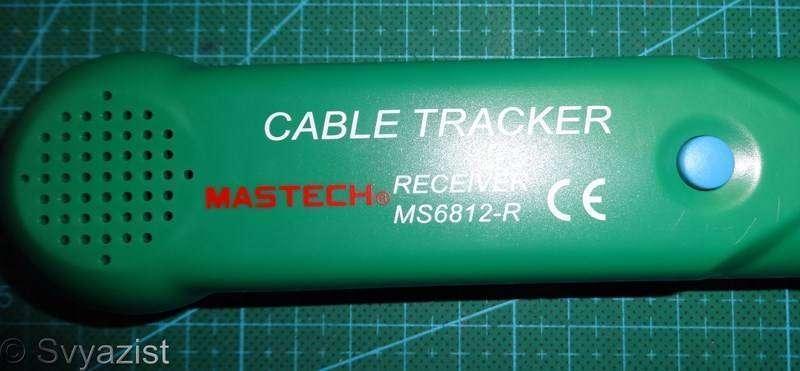 Banggood: Кабельный тестер-трассоискатель Mastech MS6812 и его доработка