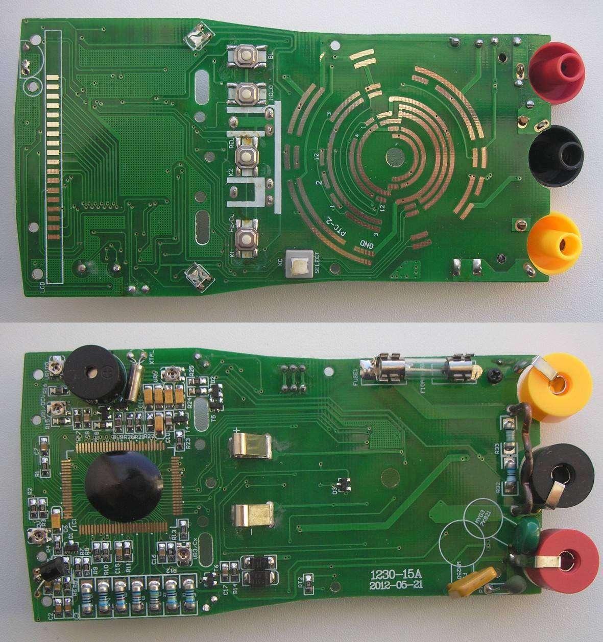 Banggood: Мультиметр Pro's Kit MT-1232