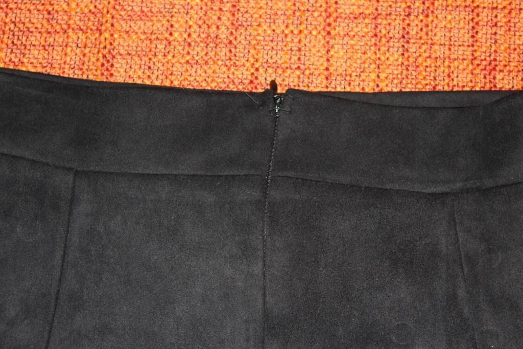 TomTop: Замшевая юбочка со шнуровкой