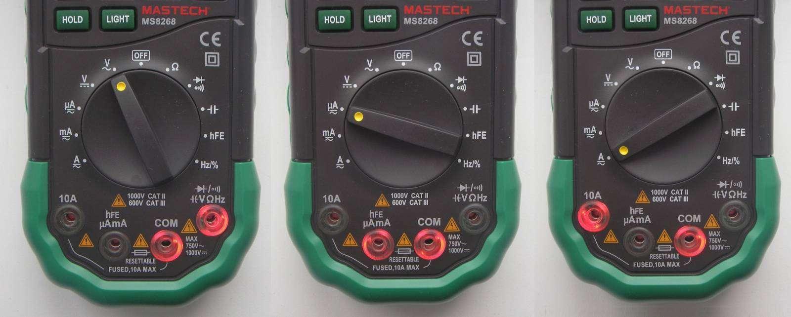 GearBest: Мультиметр MASTECH MS8268