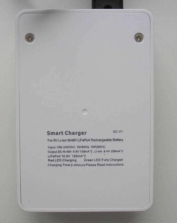 GearBest: Soshine SC - V1(Fe)  9V charger +2  Li-ion аккумулятора