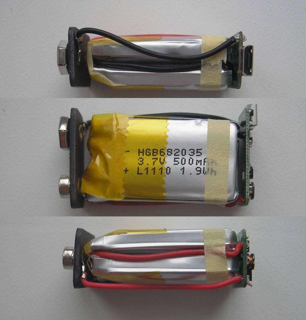 Banggood: Литиевый аккумулятор 9V 400mAh с USB-входом для зарядки