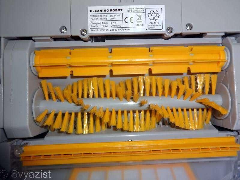 Aliexpress: Робот-пылесос LIETROUX A338. Интересная модульная конструкция