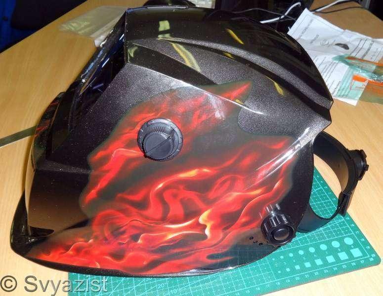 Banggood: Сварочная маска – хамелеон (с автозатемнением)