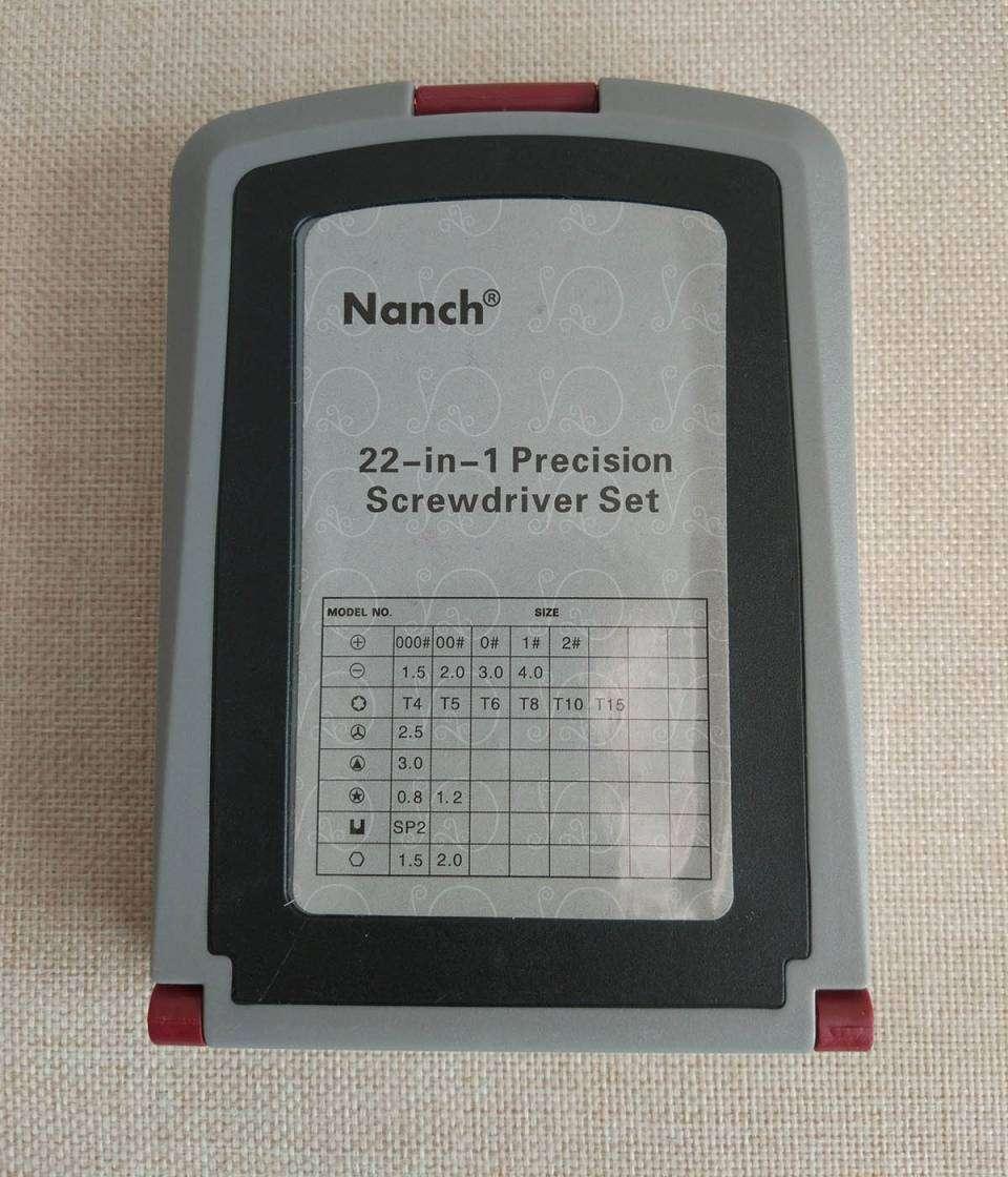 TVC-Mall: Набор Nanch состоящий из отвертки и 22 бит из стали S2