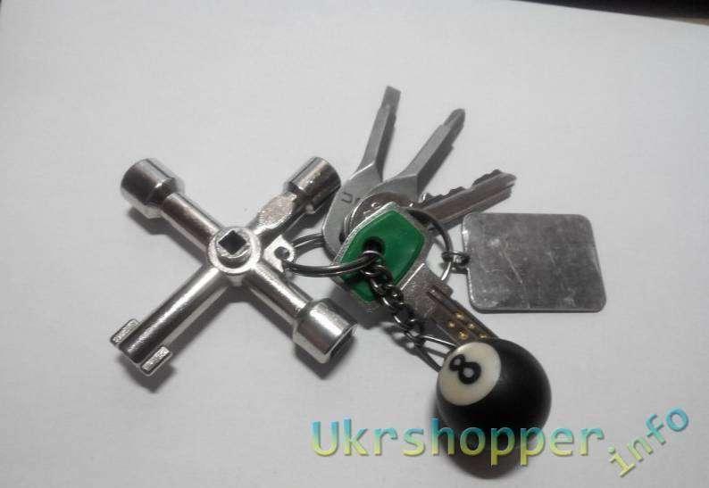 Aliexpress: Универсальный ключ для технических помещений (туалетов в поездах, электрощитов и прочего)