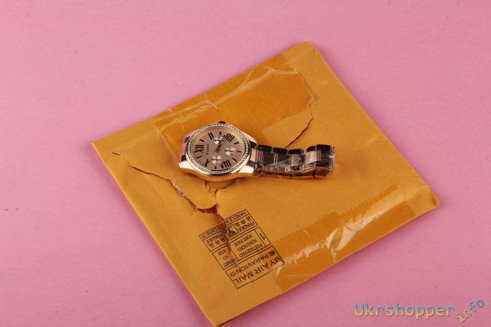 Aliexpress: Часы под червонное золото (Rose Golden Dial)